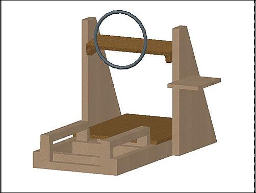 Project Homemade Playseat [Work in Progress]-wood-rig-jpg