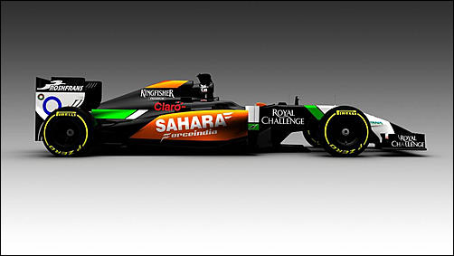 F1 2014, calendario presentazioni nuove monoposto-2014-f1-force-india-vjm07-jpg