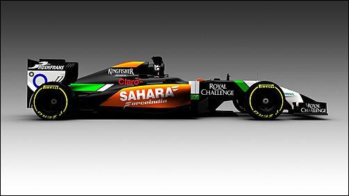F1 2014, calendario presentazioni nuove monoposto-2014-f1-force-india-vjm07-jpg