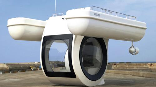 Articolo: Mercedes & Cigarette Racing presentano Vision GT Speedboat-ego-submarine-boat-ip-jpg